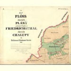 Plöss - c5805-1-001 - Kaiserpflichtexemplar der Landkarten des stabilen Katasters