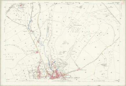 Dorset XXXI.2 (includes: Alton Pancras; Cerne Abbas; Minterne Magna; Piddletrenthide; Up Cerne) - 25 Inch Map
