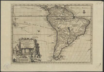 L'Amerique méridionale, suivant les nouvelles observations de Messr. de l'Académie Royale des Sciences, etc : augmentées de nouveau