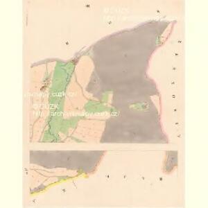 Prachatitz (Prachatice) - c6076-1-003 - Kaiserpflichtexemplar der Landkarten des stabilen Katasters