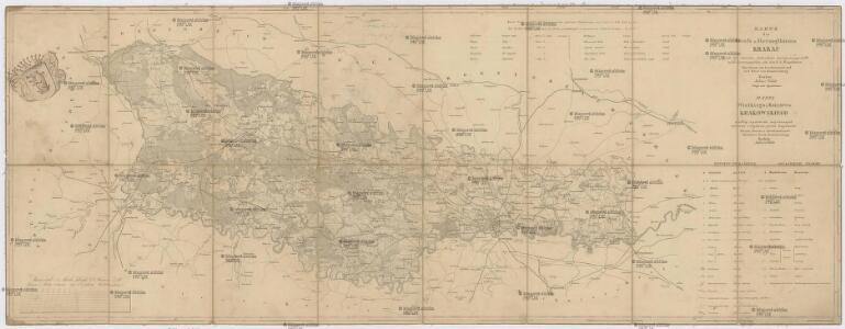 Karte des Gross-Herzogthums Krakau