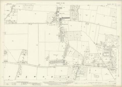 Middlesex XIX.4 (includes: Harlington; Yiewsley and West Drayton) - 25 Inch Map