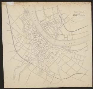 Übersichts Plan der Stadt Basel