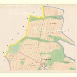Czegkowitz - c0823-1-001 - Kaiserpflichtexemplar der Landkarten des stabilen Katasters