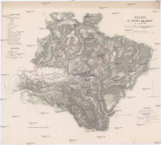 Skizze zur Einnahme von Sarajevo am 29. August 1878