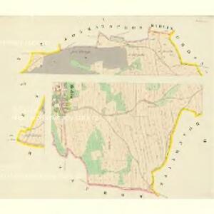 Mochtin - c4809-1-001 - Kaiserpflichtexemplar der Landkarten des stabilen Katasters