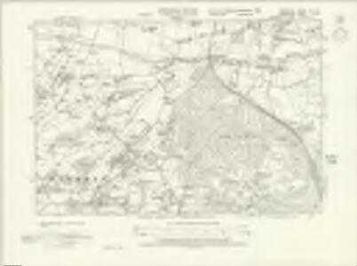 Berkshire XLII.SE - OS Six-Inch Map
