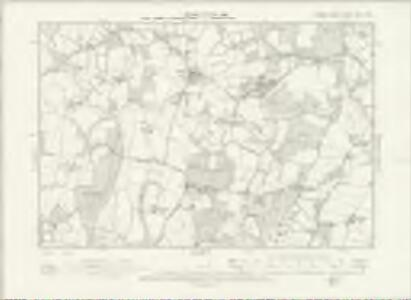 Sussex XXIII.NW - OS Six-Inch Map
