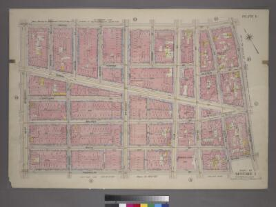 Plate 11, Part of Section 1: [Bounded by Grand Street, Mulberry Street, Baxter Street, Franklin Street and West Broadway.]