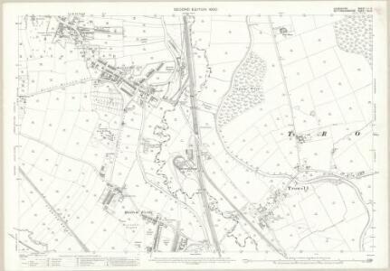 Derbyshire LI.2 (includes: Ilkeston; Stanton By Dale; Trowell) - 25 Inch Map