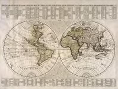 Nouveaux mappemonde ou globe terrestre