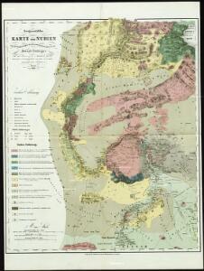 Geognostische Karte von Nubien