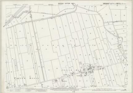 Cambridgeshire VI.4 (includes: Parson Drove; Sutton St Edmund; Tydd St Mary) - 25 Inch Map