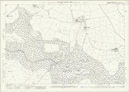 Devon XVI.12 (includes: Dulverton; East Anstey; Withypool) - 25 Inch Map