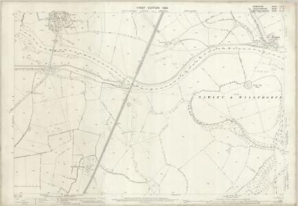 Derbyshire LVI.10 (includes: Lockington Hemington; Long Eaton; Ratcliffe on Soar; Thrumpton) - 25 Inch Map