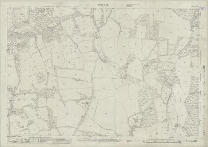 Surrey XL.1 (includes: Abinger; Ewhurst) - 25 Inch Map