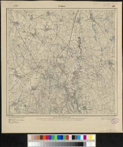 Meßtischblatt 2475 : Döbern, 1919