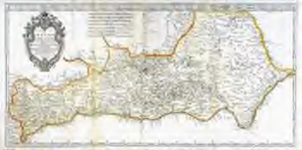 Mapa del reyno de Granada