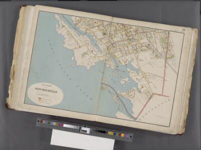 Westchester, Double Page Plate No. 15 [Map bounded by Mamaroneck, Long Island Sound, Liberty Ave.] / prepared under the direction of Joseph R. Bien, from general surveys and official records.