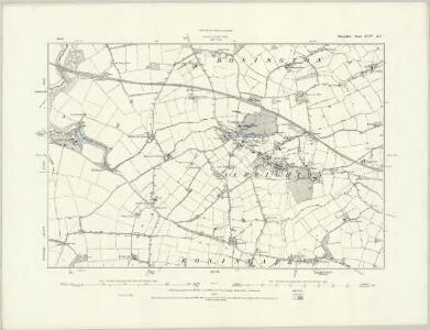 Shropshire XLIV.SW - OS Six-Inch Map