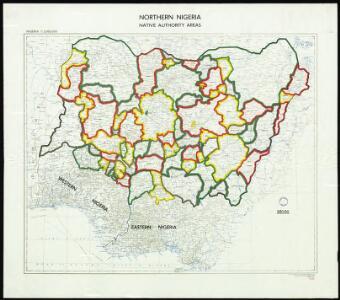 Northern Nigeria: Native Authority Areas