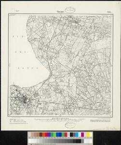 Meßtischblatt 2005 : Gronau in Westfalen, 1925