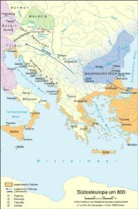 Südosteuropa um 800