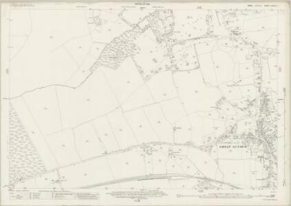 Essex (New Series 1913-) n XXXIII.7 (includes: Great Dunmow; Little Easton) - 25 Inch Map