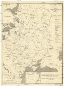 Carte hydrographique de la principale partie de la Russia Europeenne