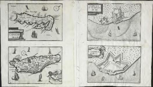 Carte de l'Isle d'Oleron
