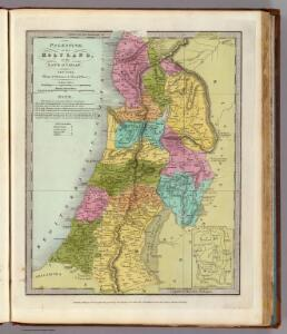 Palestine or the Holy Land, Or the Land of Canaan.