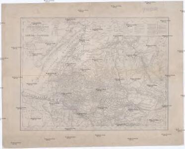 Karte vom Russischen Altai