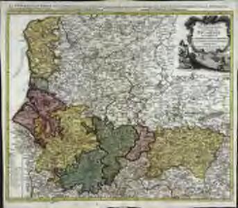 Carte du govvernement general de Picardie qui comprend la generalité d'Amiens avec l'Artois [et] les frontieres des Pays Bas