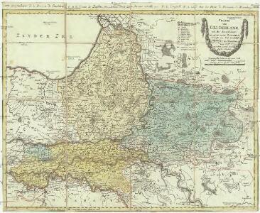 Charte von Gelderland und der dazugehörigen Grafschaft Zutphen