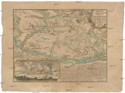 Entwurff des zwischen der rußisch-kaißerlichen und königlich-preussischen Armée den 25ten Augusti 1758 bey Zorndorff vorgewesten blutigen Treffen, und darbey russischer Seits erfochtenen Sieges