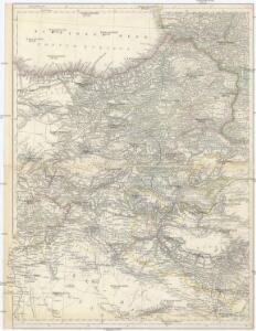 [Karte des östlichen Kleinasien]
