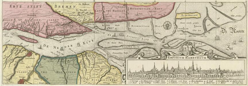 Nobilis Fluvius Albis maximâ curâ ex variis famosisq; Autoribus collectus et in lucem editus