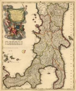 Italiae Pars Meridionalis Quae Nunc Sceptri Hispanici Regnum Neapolitanum in XII Provincias divisum
