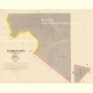 Nebrzezin (Nebřezin) - c4982-1-002 - Kaiserpflichtexemplar der Landkarten des stabilen Katasters