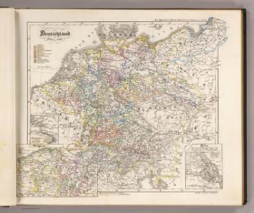 Deutschland von 1649 bis 1792.