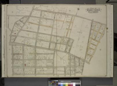 Queens, Vol. 3, Double Page Plate No. 7; Part of ward Three Flushing. [Map bounded by Congress Ave., Myrtle Ave., Bayside Ave.,        Whitestone Ave., S. Parsons Ave., N. Parsons Ave., Bowne Ave., Brewster Ave.,    Claverly Pl., Vanriper Ave., Centra