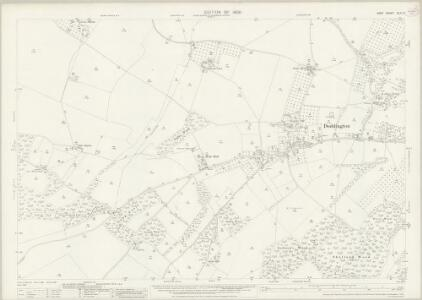 Kent XLIV.2 (includes: Doddington; Kingsdown; Milstead; Wichling) - 25 Inch Map