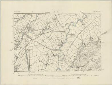 Montgomeryshire XV.NE - OS Six-Inch Map