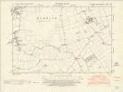 Yorkshire CCXXII.NE - OS Six-Inch Map