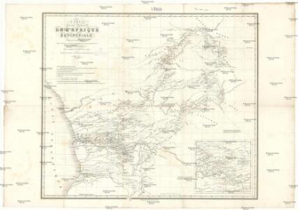 Carte d'une partie de l'Afrique équinoxiale