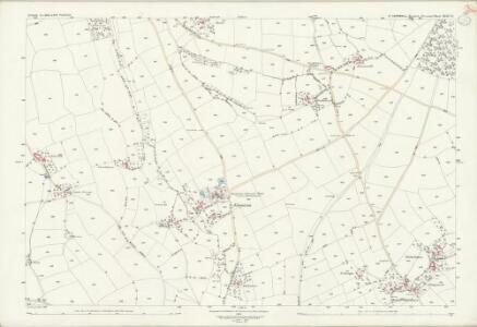 Cornwall XXIII.10 (includes: Stoke Climsland) - 25 Inch Map
