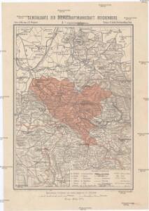 Generalkarte der Bezirkshauptmannschaft Reichenberg