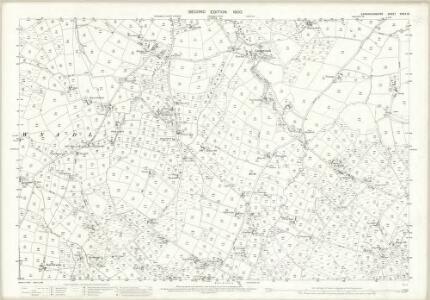 Caernarvonshire XXXIX.13 (includes: Botwnnog; Tudweiliog) - 25 Inch Map