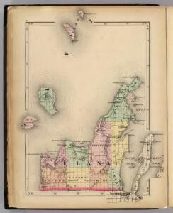 (Map of Leelanau County, Michigan)