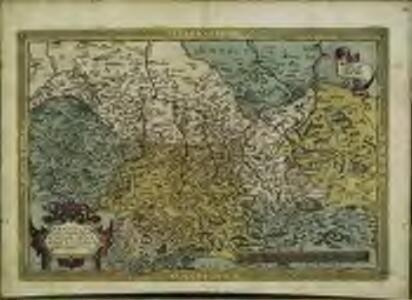 Saxoniae, Misniae, Thvringiae, nova exactissimaq[ue] descriptio
